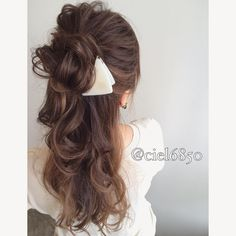 Media?size=l Unique Hairstyles, Wedding Hairstyles, Hair Dos, My Hair, Hear Style, Hair Arrange, Hair Setting, Japanese Hairstyle, Hair Inspiration