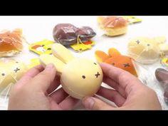 cute cream color Miffy bunny rabbit bread bun squishy for bag backpack - Food Squishies - Squishies - kawaii shop modeS4u