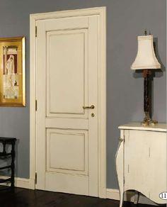 Collezione porte interne '800 '900 legno laccate anticate