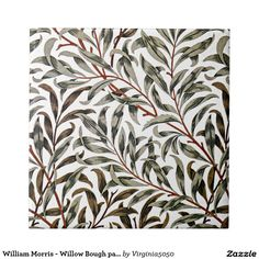 William Morris - Willow Bough pattern Tile