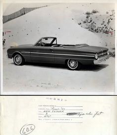 distinguishedcompany:    prova275:  1963 Ford Falcon Press Release photo. 65 Ford Falcon, Vintage Advertisements, Ads, Ford Lincoln Mercury, Old Fords, Moto Bike, Car Ford, Vintage Cars, Cool Cars