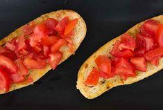 Tomato and Garlic bruschetta