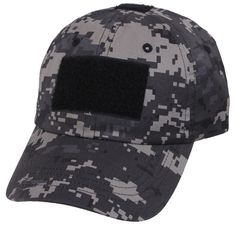 0ccd2d2f399 Subdued Urban Digital Camouflage Tactical Operator Cap - Patch Area Baseball  Hat
