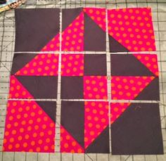 Sometimes you need to make a quilt quickly for someone who won't appreciate your more improvisational efforts. Recently I found this pat...