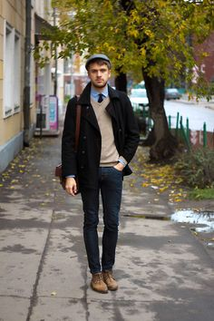 Street Style || Fashion inspiration from real people around the world || Singing blues has been getting old (by Oleg P.)
