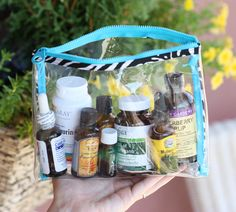 Natural Travel Remedy Kit -- The Spunky Coconut