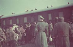 Deportation of Jews from the Lodz ghetto to the Chelmno killing center. This is the last few days. hours of all their lives.
