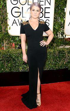 Kelly Osbourne rocks Escada at the 2014 Golden Globes