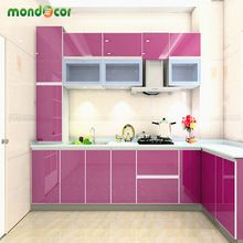 SuperDeals 44% off http://s.click.aliexpress.com/e/V3feyrf 60*200cm Glossy DIY Decorative Sticker Furniture PVC Film Self adhesive Wallpaper for Kitchen Cabinet Waterproof Wall paper