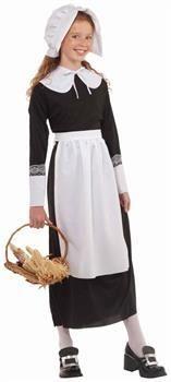 Thanksgiving Pilgrim Girl Costume Accessory Set Child One Size  sc 1 st  Pinterest & How-To: Sew Childrenu0027s Pilgrim Costumes for less than $5 | Little ...