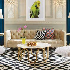 TOP Interior Designer, at M&O, Jnathan Adler. Find more inspiration at http://nydesignagenda.com