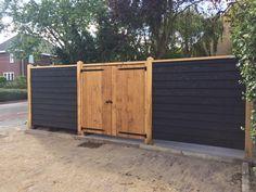 Door Gate, Garden Ideas, Garage Doors, Outdoor Decor, House, Garden Fencing, Home, Landscaping Ideas, Backyard Ideas