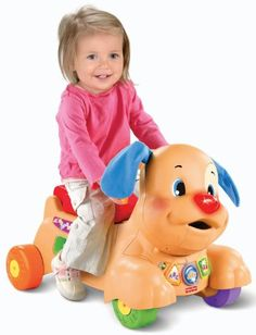 Fisher-Price Laugh and Learn Stride-to-Ride Puppy Fisher-Price http://www.amazon.com/dp/B007HZ9PZ2/ref=cm_sw_r_pi_dp_Sn3gub09WTTDV