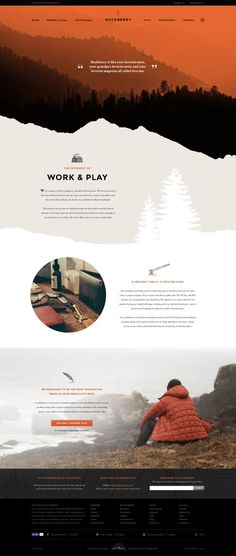 Huckberry Web Design by Jimmy Gleeson | Fivestar Branding – Design and Branding Agency & Inspiration Gallery