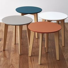 Color Top Accent Side Table | The Company Store