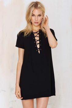 Like this? Then you'll love http://www.marahcar.com/2016/03/17/striped-lace-up-dress/ | Affordable clothing and trendy style
