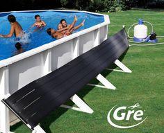 Si tienes una #piscina elevada puedes emplea un calentador solar de agua para que este siempre a la temperatura óptima.