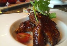 Fine Dining at Sea: Tamarind Restaurant - The Shanghai Ribs were a favorite at the table.