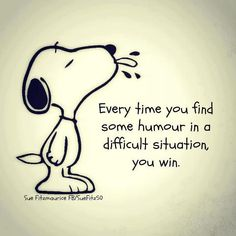 You got that right Snoopy!