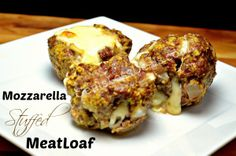 meatloaf stuffed mozarella! just made this and it is incredible!