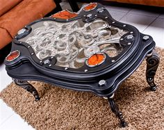 Wicked Coffee Table by Dale Mathis - Kinetic Art Furniture - ArtisticLifestyles