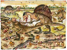 Mu Pan - Dinoasshole chapter 6: Spinosaurus - 2016