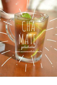 receita de chá mate gelado com limão igual o da praia