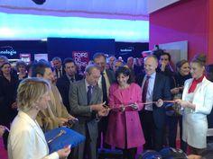 Twitter / Anne_Hidalgo : Inauguration de la @Foire Lavande De Paris ...