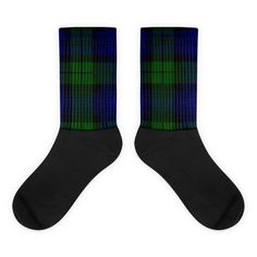 These socks are extra comfortable thanks to their cushioned bottom. The foot is black with artwork printed along the leg with crisp, bold colors that wont fade. Popular Christmas Presents, Star Art, Artwork Prints, Bold Colors, Tartan, Handmade Items, Socks, Shop, Etsy