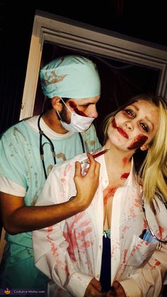 Surgeon and Doctor Couple Homemade Costume