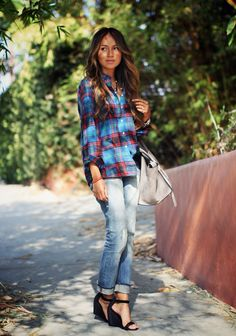 Casual plaid sincerelyjules