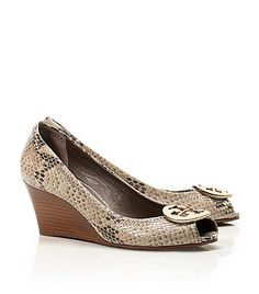Tory Burch Python Printed Wedge. Love mine! :)