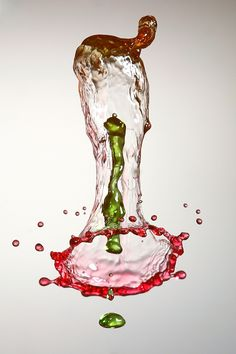 Drops colision by Enrique Izquierdo - Photo 100492559 / 500px