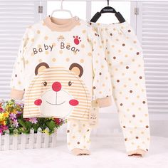 2015 New Infant Girl Clothes Boys & Girls Sleep Coats Set Baby Girl Cute Pajamas Suit Newborn Baby Girl Soft Cotton Underwear-in Clothing Sets from Mother & Kids on Aliexpress.com | Alibaba Group