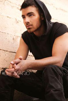Joe Jonas Poses For 'Fast Life' Album - Hollywood Life