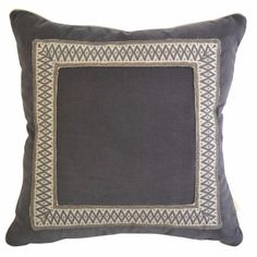 Pillows completed with modern decorative tape by Brimar. #brimar #trim Pillow Talk Pinterest ...