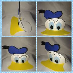Disney Donal party hat by titaspartycreations on Etsy
