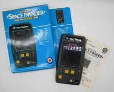 1981 Entex Electronic Space Invader Handheld Arcade Game w/ Box Tested & Working #Entex Test Games, Games W, Space Invaders, Retro Video Games, Arcade Games, Ebay