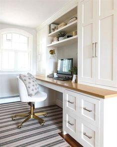 Design Room, Home Design, Home Office Design, Home Office Decor, Home Decor, Design Ideas, Home Office Furniture Ideas, Office In Bedroom Ideas, Office Designs