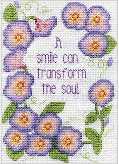 Transform the Soul - Cross Stitch Kit