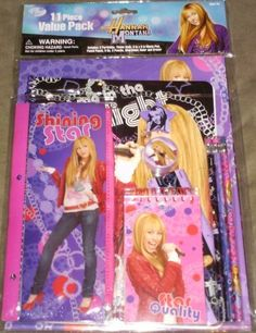 Hannah Montana Value Stationary Set by Disney. $13.85. Beautifully coordinated school supplies featuring Hannah Montana