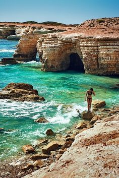 #Sea Caves in #Paphos, #Cyprus by #AlexCican