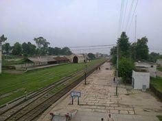 Jhelum Railway Station via Explore the Beauty of Pakistan