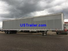 US Trailer is one of the largest trailer leasing and rental companies in the Missouri area, specializing in over-the-road Dry Vans, Flatbeds & Reefers Flatbed Trailer, Semi Trailer, Trailers For Sale, Twist Outs, Van, Check, Vans, Box Braids, Curly Hair