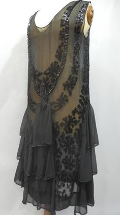 Evening dress, ca 1923