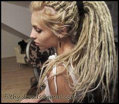 kasia by FilthyDreads.deviantart.com on @deviantART Another hairdo inspiration