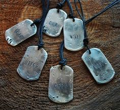WOOF! Brutal Modern Bear Pewter Men's Cub Tag - Jewelry Gay Necklace Leather   eBay