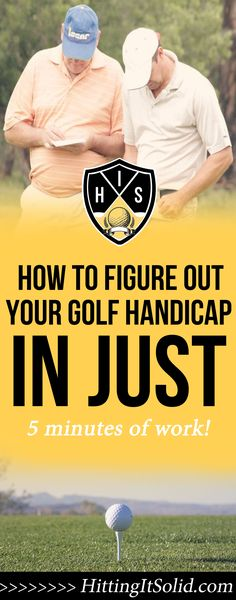 How to Figure Out Your Golf Handicap in 5 Minutes — Hitting It Solid: Play Better Golf With Next-Level Golf Instruction Mini Golf Near Me, Golf Betting, Golf Handicap, Golf Bags For Sale, Golf Tips Driving, Golf Trolley, Golf Score, Golf Practice, Golf Videos