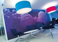 Vinyl impression offers a dedicated design service for any custom wall stickers you may need. Wall Sticker Design, Custom Wall Stickers, Office Wall Graphics, Cancer Research Uk, Hospital Design, Environmental Graphics, Learning Spaces, Digital Signage, Office Walls