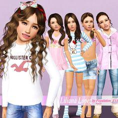 Liliana Lopez model by Population TS3